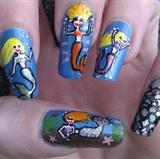 Mermaids playing =D