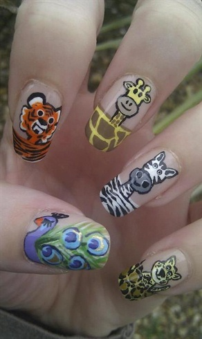 Animal Print with Animals!! :D