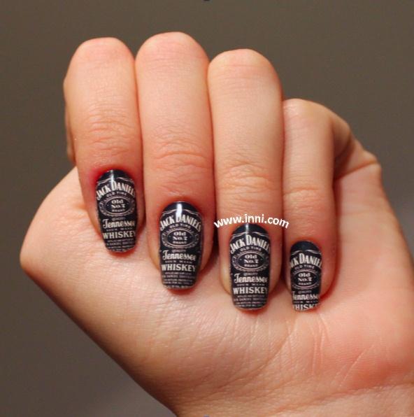 Jack Daniels - Nail Art Gallery