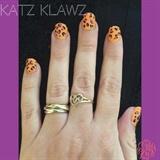 Orange & Pink Leopard
