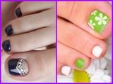 """Nail Art For Toes """"#nailart5"""