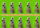 Pretty Apples Nail Art Design