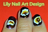 Lily Nail Art Design