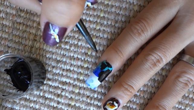 Lighthouse Nail Art Design Nail Art Gallery Step By Step Tutorial Photos