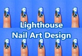 Lighthouse Nail Art Design