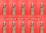 Lipstick Nail Art Design