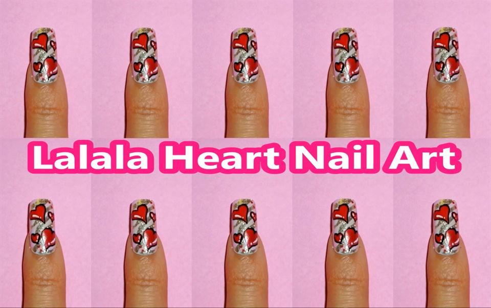 Lalala Heart Nail Art Design - Nail Art Gallery Step-by-Step ...