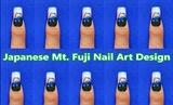 Japanese Mt. Fuji Nail Art Design