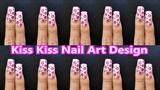 Kiss Kiss Nail Art Design