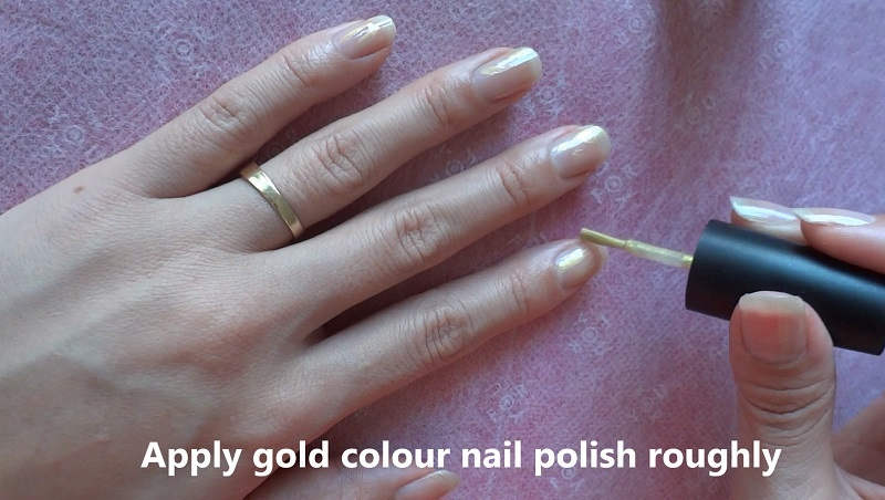 Toothpick Leopard Print Nail Art Nail Art Gallery Step By Step