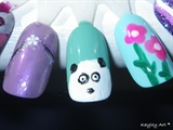 a few practice nails