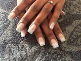 Brides nails.