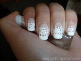 Freehand Lace Nails