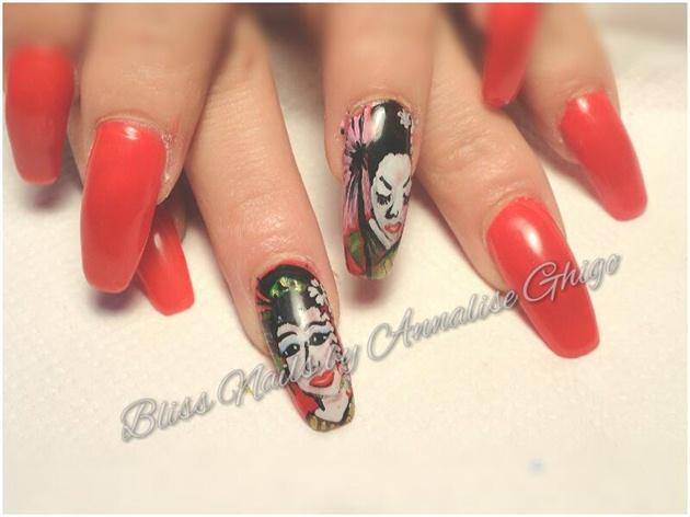 geisha nails