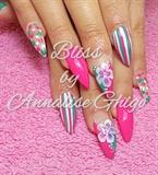 mixed pink