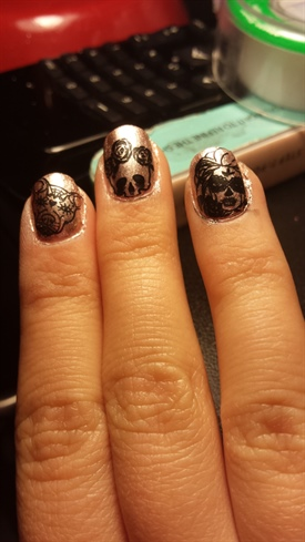 Nail Stamlate Nails