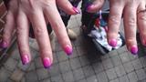 Colour change gel