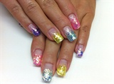 Glitter Nails gel