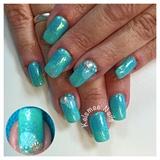 Glitterfading Turquoise
