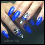 Tribalnails Blue