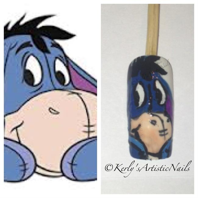 Nail Art Gallery Winnie The Pooh Nail Art Photos