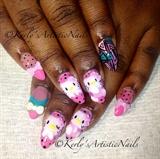 Kitty Crush - Hello Kitty Inspired Nails