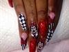 Minnie Mouse Nails Design