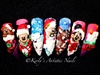 Christmas 3d Nail Art Designs