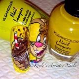 Nesquik - Chocolate Milk Nail Art
