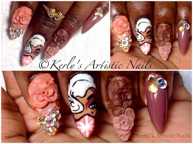 Emilio Ramos Art - Inspired Nail Art