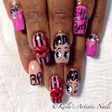 Sweet Betty - Betty Boop Nail Art