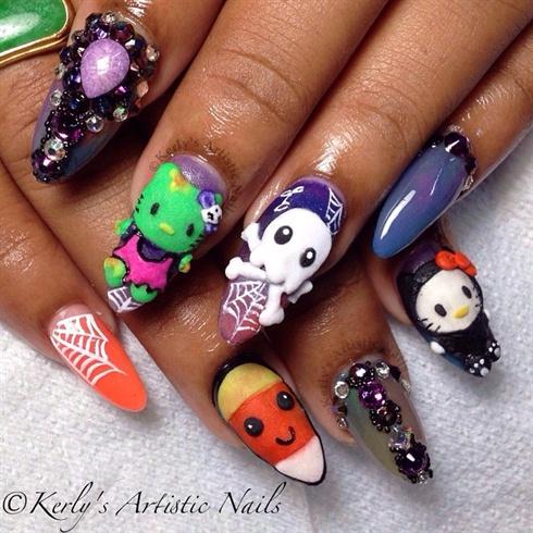 Zombie Hello Kitty & Friends - Halloween
