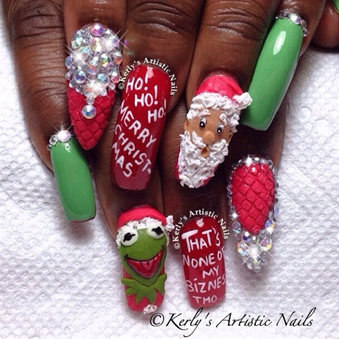 Santa and Kermit the Frog Christmas Chat