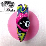 8 Ball Nail Art Design