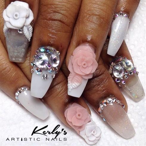 Aqua Chic Nails