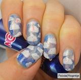 Cloud nail vinyls