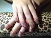 Nude, Glitter & Nail Art