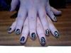Venom inspired nails