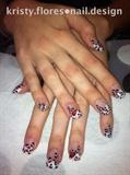 Valentine's Leopard Print
