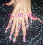 fimo long nails