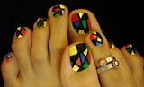 Funky Toe Nails