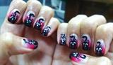 MEOW- Cat nail art