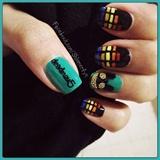 deadmau5 nail art
