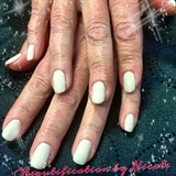 Squoval Shaped Akzentz Gel Nails