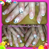 Bunny Rabbit Gel Nails