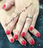 Red Gel Manicure