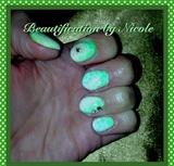 Reptile Print Gel Manicure
