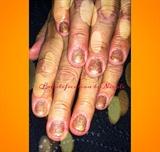 Rose Gold Gel Manicure
