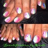 Rainbow Reptile Gel Manicure