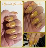 Fall Glitter Fade Nails